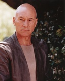 Patrick Stewart Posed in Gray Suit Portrait Photo af Movie Star News