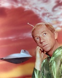 Ray Walston Portrait in Green Alien Costume Photo by  Movie Star News