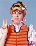 Judy Carne Posed in Life Jacket Photo by  Movie Star News