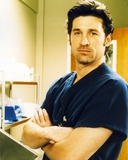 Patrick Dempsey Posed in Blue Shirt Photo by  Movie Star News