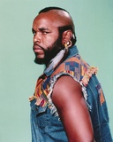 Mister T Side View Serious Pose Portrait Photo by  Movie Star News