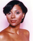 Leslie Uggams Portrait in Pink Background Photo by  Movie Star News