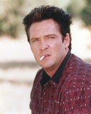 Michael Madsen Posed in polo shirt with Cigarette Photo by  Movie Star News