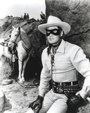 Lone Ranger Clayton Moore Portrait Photo by  Movie Star News