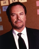 Rip Torn Posed in Black Coat and Black Tie Photo by  Movie Star News