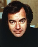 Neil Diamond Portrait in Black Photo by  Movie Star News