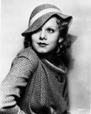 Jean Harlow Posed in Polka Dot Dress Fotografía por Movie Star News