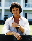 Patrick Duffy smiling Posed in White Long Sleeves Photo by  Movie Star News