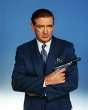 Rod Taylor Cross-Arms Posed with Gun Portrait Photo by  Movie Star News