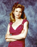 Kyra Sedgwick in Red Dress Portrait Photo by  Movie Star News
