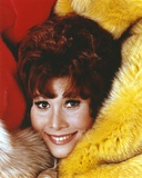 Michele Lee Lying on a Furry Beddings Photo by  Movie Star News