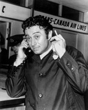 Lenny Bruce Answering Telephone in Black Tuxedo Photo by  Movie Star News