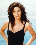 Kim Delaney Posed in Black Sleeveless Photo by  Movie Star News