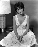 Suzanne Pleshette wearing a Printed Dress Photo by  Movie Star News
