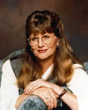 Judith Ivey wearing Eyeglasses and a Tunic in a Close Up Portrait Photo by  Movie Star News