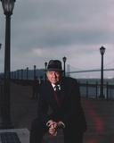 Karl Malden standing in Black Suit Photo by  Movie Star News