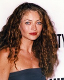 Rebecca Gayheart smiling in a Portrait wearing Blue Dress Photo by  Movie Star News