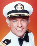 Love Boat in Navy Uniform with Red Background Photo by  Movie Star News