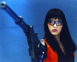 Milla Jovovich Holding a Gun Photo by  Movie Star News