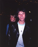 Jeff Beck Candid Shot in Black Sport Coat and White Ringer T-Shirt Foto von  Movie Star News