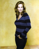 Rachel Griffiths Posed in Yellow Background Photo by  Movie Star News