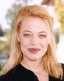 Jeri Ryan Close Up Portrait in Black Keyhole-Neck Long Sleeve Shirt Photo by  Movie Star News