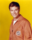 Larry Hagman Portrait in Orange Jacket Photo by  Movie Star News
