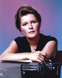 Kate Mulgrew Posed in Black Dress With Pencil Photo by  Movie Star News
