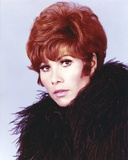 Michele Lee Close Up Portrait wearing Feather Jacket Photo by  Movie Star News