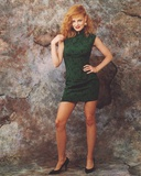 Marg Helgenberger in Green Dress Photo by  Movie Star News