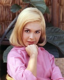 Sandra Dee in Pink Sweater Close Up Portrait Photo by  Movie Star News
