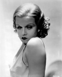 Jean Harlow Portrait in White Tank Top Fotografía por Movie Star News