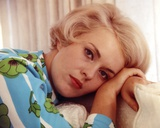 Jean Seberg in Floral Dress Portrait Photo by  Movie Star News