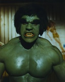 Lou Ferrigno Posed as Incredible Hulk Photo by  Movie Star News
