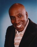 Scatman Crothers Portrait in Brown Stripes Polo Shirt Photo by  Movie Star News