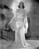 Talullah Bankhead on an White Gown Photo by  Movie Star News