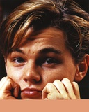 Leonardo Dicaprio Close Up Portrait with Both Hands on Chin Photo by  Movie Star News