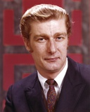 Richard Mulligan Posed in Suit with Red Background Photo by  Movie Star News