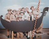 McHale's Navy Posed With Cast Photo by  Movie Star News