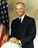 John Glenn smiling Pose Photo by  Movie Star News