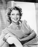 Jeanette MacDonald Posed in Elegant Dress Photo by  Movie Star News