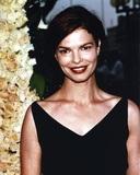 Jeanne Tripplehorn Posed in Black V-Neck Strap Dress Photo by  Movie Star News