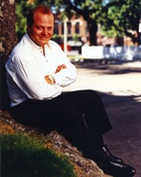 Michael Chiklis Crossed Arms in White Polo Photo by  Movie Star News