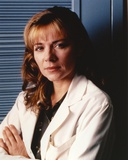 Kim Cattrall Crossed Arms in White Coat Photo by  Movie Star News