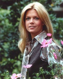 Meredith Baxter Portrait in Floral Dress Photo by  Movie Star News