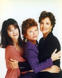 Margaret Colin Group Picture in White Background Photo by  Movie Star News
