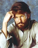 Kris Kristofferson in Gray Long Sleeve Portrait Photo by  Movie Star News