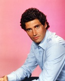 Michael Nouri in Blue Long Sleeves Portrait Photo by  Movie Star News