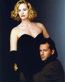 Moonlighting Posed in Black Dress With Bruce Willis Photo by  Movie Star News