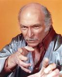 Lee Van Cleef Portrait in Grey Orange Background Photo by  Movie Star News